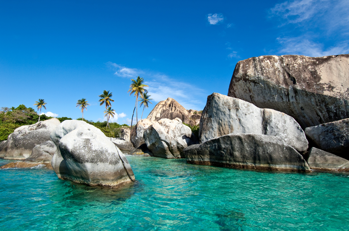 Most Beautiful British Virgin Islands